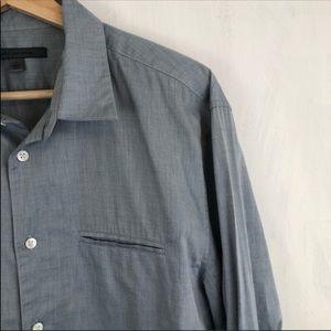 John Varvatos Shirts - Men's John Varvatos Slim Roll Sleeve Button Down L